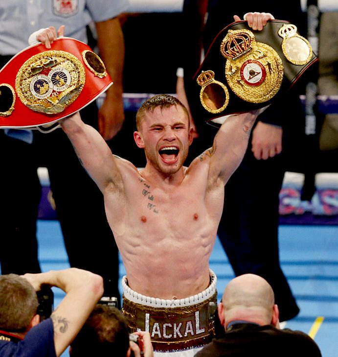 "Carl Frampton: ""I feel like I'm going to knock him out"""