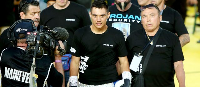 "Team Tszyu: ""We're trying to get the Australian title"""