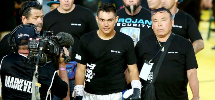 """Team Tszyu: """"We're trying to get the Australian title"""""""