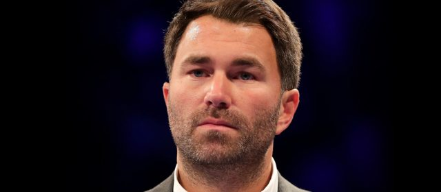 "Eddie Hearn warns Dave Allen: ""This is another level"""