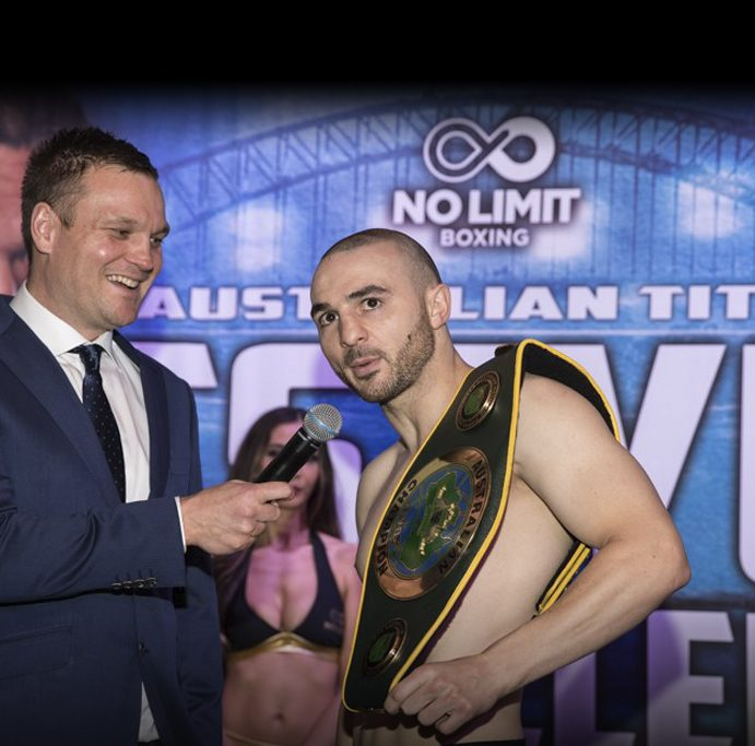 Ben Damon discusses Tszyu pay-per-view platform