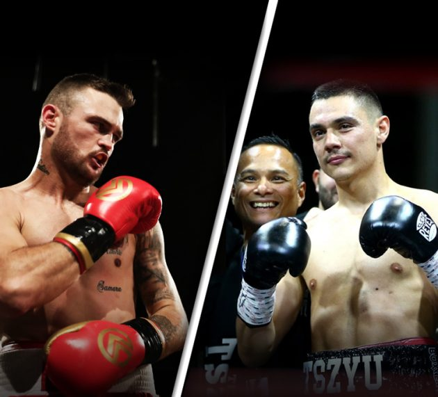Tim Tszyu signs for Dwight Ritchie on August 14th