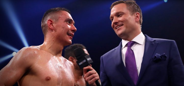 Ben Damon sees 'life-changing' opportunity for Tszyu-Ritchie winner