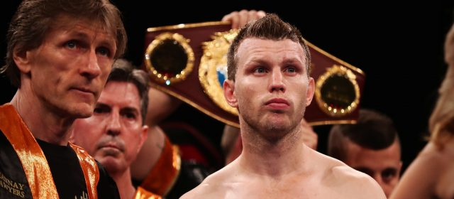 Jeff Horn confirms plans to fight on