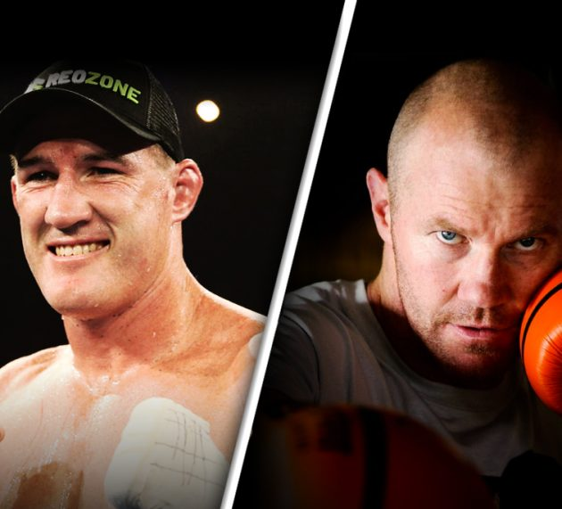 Paul Gallen and Barry Hall sign for footy code clash